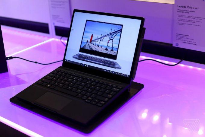Ноутбук Dell 7285 заряжается без проводов