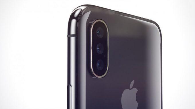 Apple может выпустить iPhone с тройной камерой