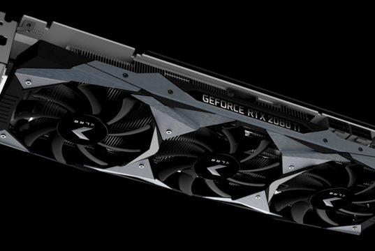 Galax выпустит видеокарты GeForce RTX 2080 Ti и GeForce RTX 2080