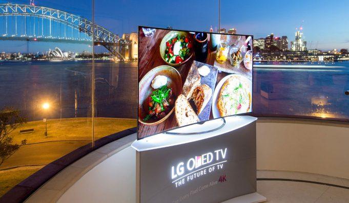 LG Display будет производить телевизионные панели OLED в Китае