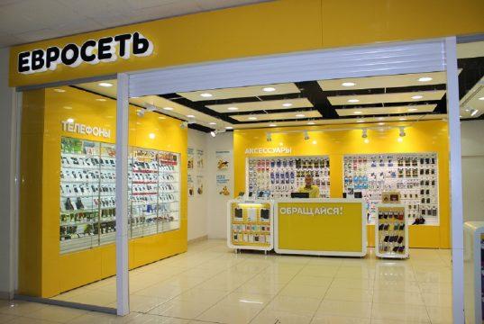 «Билайн» заплатит «Мегафону» 1,25 млрд рублей за половину салонов «Евросети»