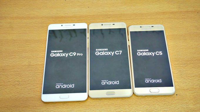 Samsung тестирует Android 7.0 Nougat для Galaxy C5, C7 и C9 Pro