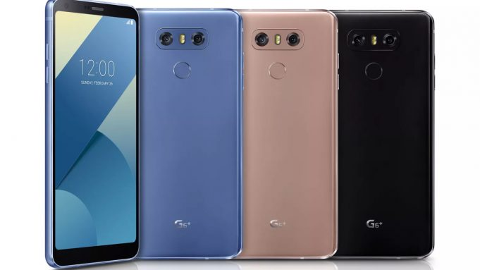 LG представила LG G6+ с беспроводной зарядкой