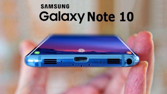 Первые концепт-арты флагманского планшетофона Samsung Galaxy Note10 демонстрируют тройную камеру