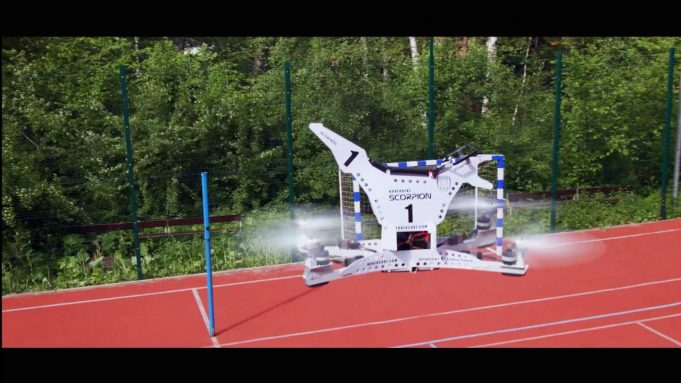 Российская компания Hoversurf разработала ховербайк