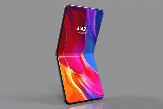 Xiaomi представила складной смартфон с гибким экраном