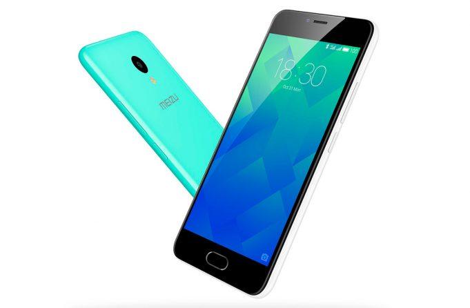 Компания Meizu сообщила о начале продаж смартфона Meizu M5 в России.