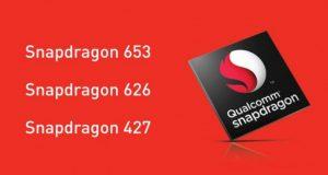 Qualcomm анонсировала Snapdragon 653, 626 и 427 среднего уровня