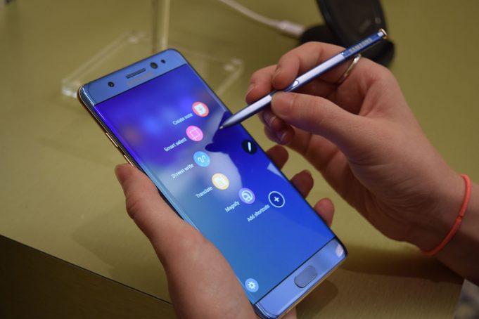 Восстановленный Samsung Galaxy Note 7 появится 7 июля