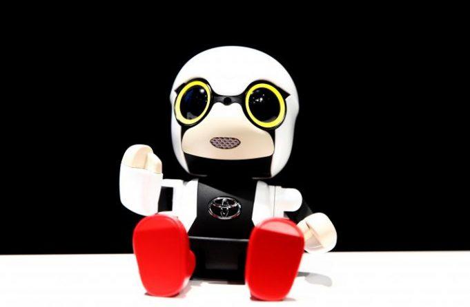 Toyota разработала робота-ребенка для бездетных японцев