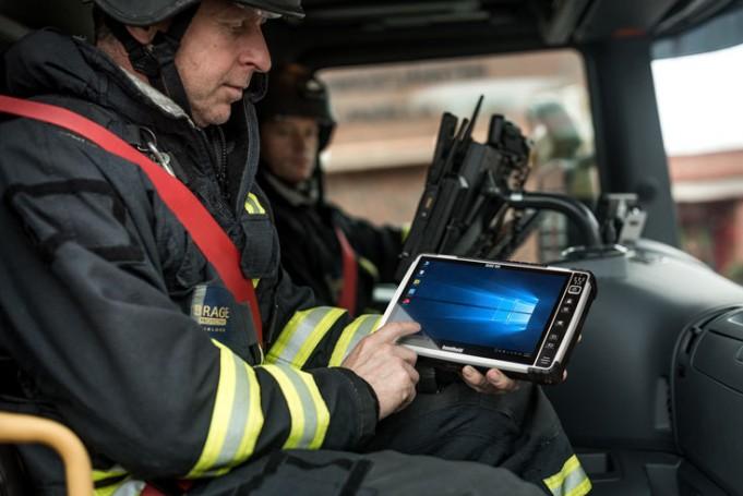 Обновлен защищенный планшет Handheld Algiz 10X