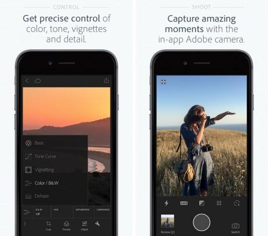 Adobe добавила поддержку камер iPhone 7 в Lightroom для iOS