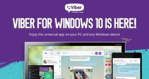 Viber для Windows 10 вышел из стадии «бета»