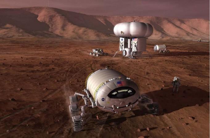 NASA готовит роботов к путешествию на Марс