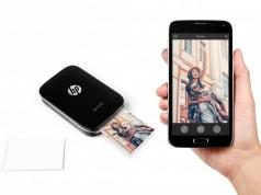 Мобильный принтер HP Sprocket основан на технологии печати ZINK Zero