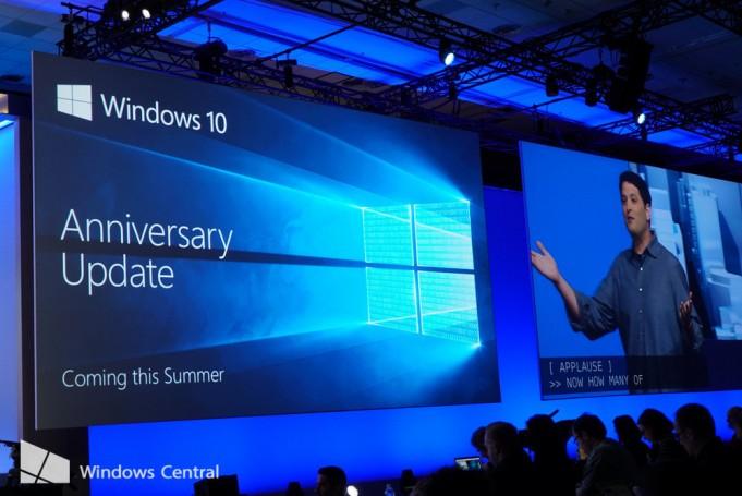 Обновление Windows 10 Anniversary выйдет 2 августа, официально