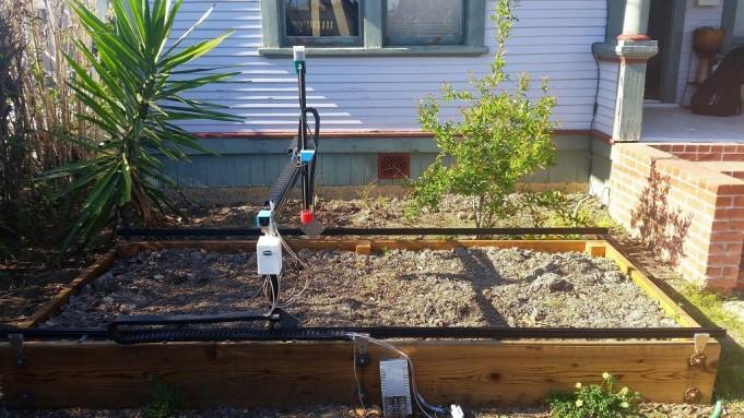 Невероятный самодельный робот-садовник