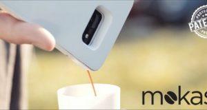 Смартфонный чехол Mokase получил встроенную кофемашину