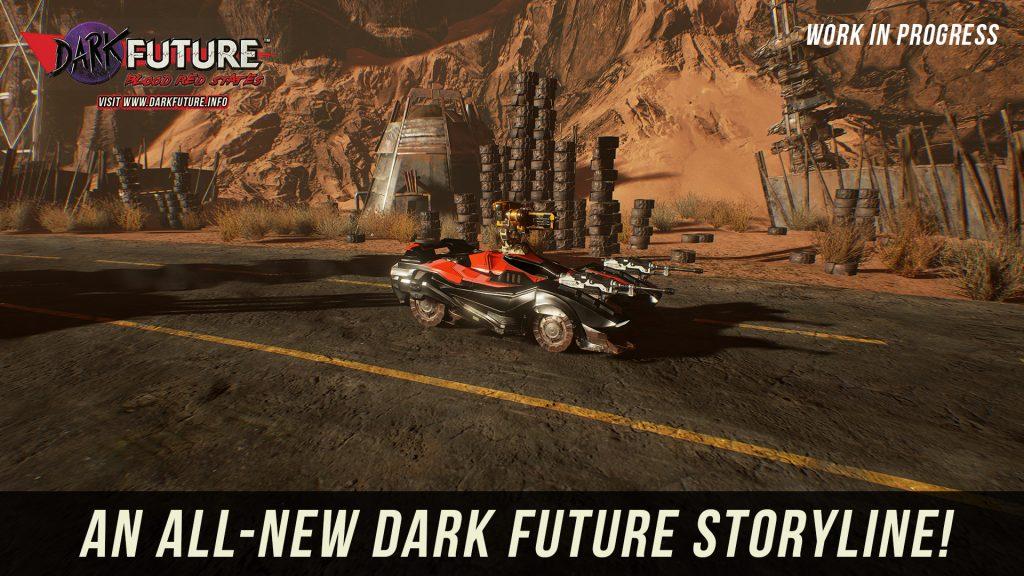 Dark Future: Blood Red States – Жестокость выжженных пустошей