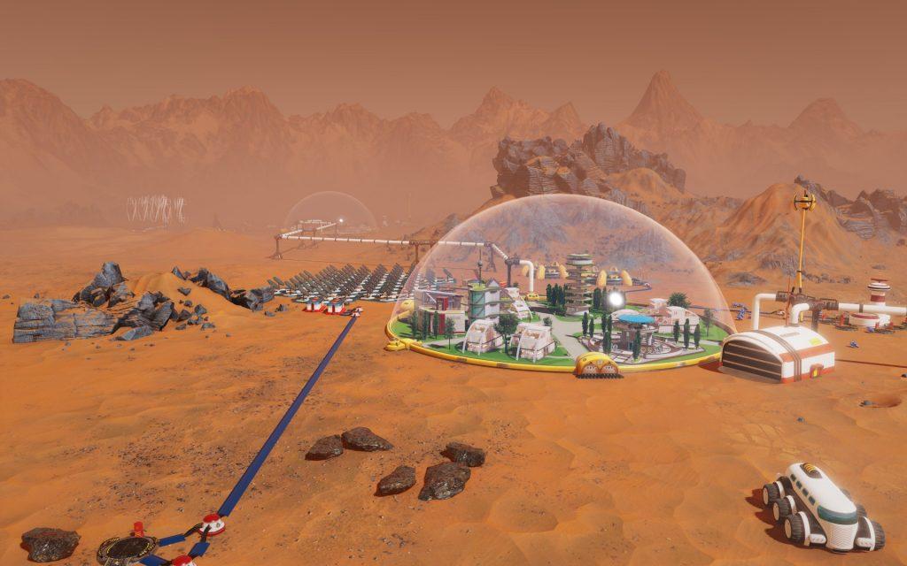 Surviving Mars – границы всемирного познания!