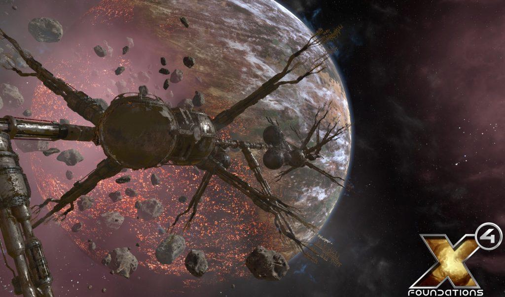 X4: Foundations – Границы космической империи