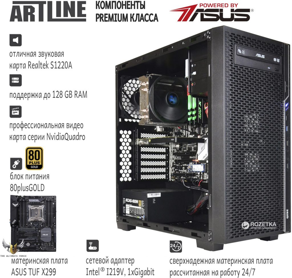 Компьютер для художника 2018 года