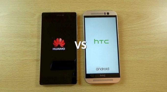 Какой смартфон лучше Htc или Huawei