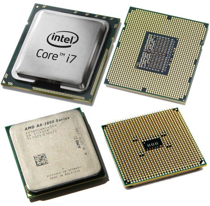Рейтинг процессоров 2018 года